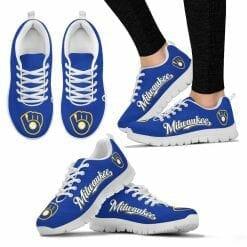 MLB Milwaukee Brewers Retro Running Shoes