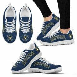 MLB Milwaukee Brewers Running Shoes