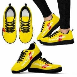 Dodge Challenger Running Shoes Yellow
