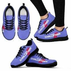 Dodge Challenger Running Shoes Purple