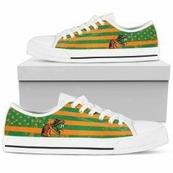 NCAA Florida A&M Rattlers Low Top Shoes