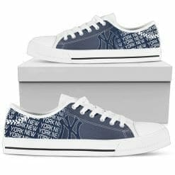 MLB New York Yankees Low Top Shoes