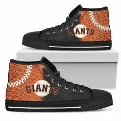 MLB San Francisco Giants High Top Shoes