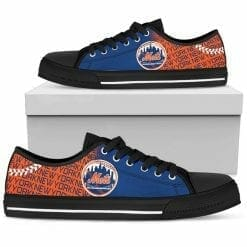 MLB New York Mets Low Top Shoes