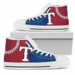 MLB Texas Rangers High Top Shoes