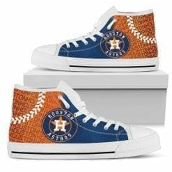 MLB Houston Astros High Top Shoes