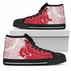 MLB Boston Red Sox High Top Shoes