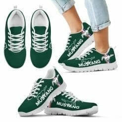 Ford Mustang Running Shoes Highland Green