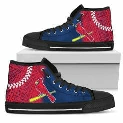 MLB St. Louis Cardinals High Top Shoes