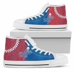 MLB Los Angeles Dodgers High Top Shoes