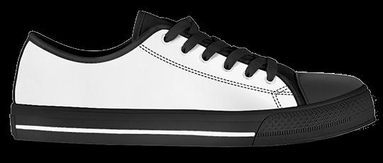 Low Top Canvas Shoes