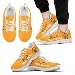 Ford Mustang Running Shoes Blaze Tricoat Yellow