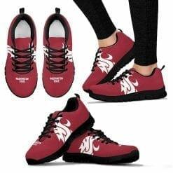 NCAA Washington State Cougars Running Shoes