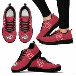 NCAA Houston Cougars Running Shoes