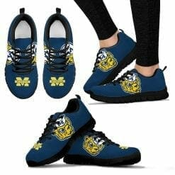 NCAA Michigan Wolverines Running Shoes