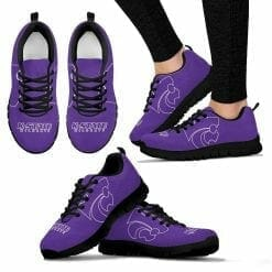 NCAA Kansas State Wildcats Running Shoes