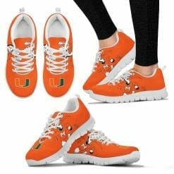 NCAA Miami Hurricanes Running Shoes