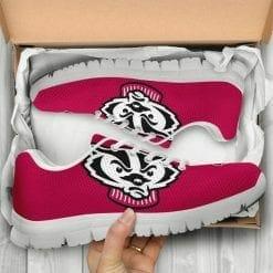 NCAA Wisconsin Badgers Running Shoes