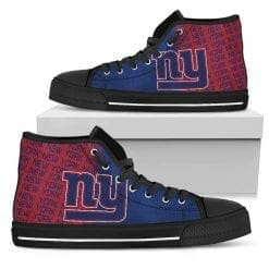 NFL New York Giants High Top Shoes