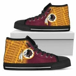 NFL Washington Redskins High Top Shoes