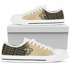 NFL New Orleans Saints Low Top Shoes