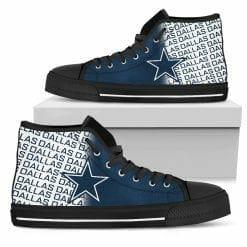 NFL Dallas Cowboys High Top Shoes