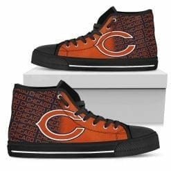 NFL Chicago Bears High Top Shoes