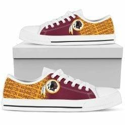 NFL Washington Redskins Low Top Shoes