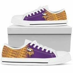 NFL Minnesota Vikings Low Top Shoes