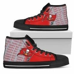 NFL Tampa Bay Buccaneers High Top Shoes