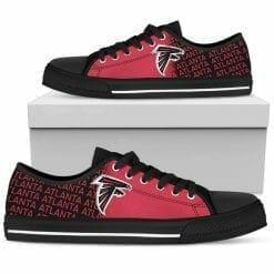 NFL Atlanta Falcons Low Top Shoes