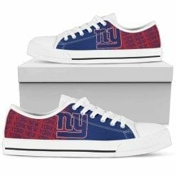 NFL New York Giants Low Top Shoes