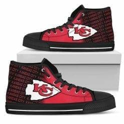 NFL Kansas City Chiefs High Top Shoes