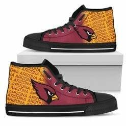 NFL Arizona Cardinals High Top Shoes