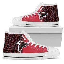 NFL Atlanta Falcons High Top Shoes