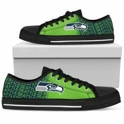 NFL Seattle Seahawks Low Top Shoes