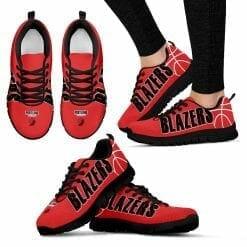 NBA Portland Trail Blazers Running Shoes V2