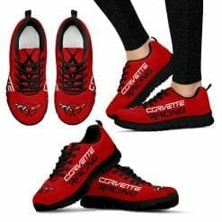 Chevrolet Corvette Running Shoes Torch Red