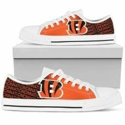 NFL Cincinnati Bengals Low Top Shoes