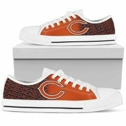NFL Chicago Bears Low Top Shoes