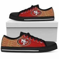 NFL San Francisco 49ers Low Top Shoes