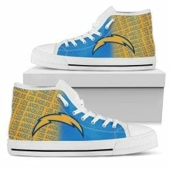 NFL Los Angeles Chargers High Top Shoes