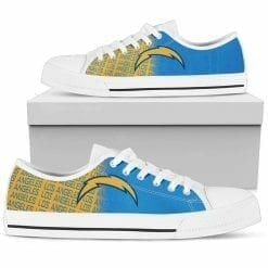NFL Los Angeles Chargers Low Top Shoes