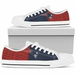 NFL New England Patriots Low Top Shoes