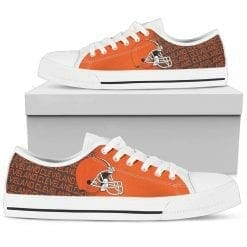 NFL Cleveland Browns Low Top Shoes