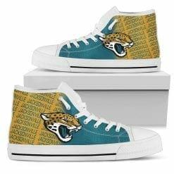 NFL Jacksonville Jaguars High Top Shoes