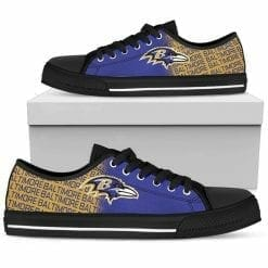 NFL Baltimore Ravens Low Top Shoes