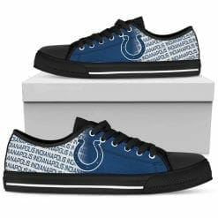 NFL Indianapolis Colts Low Top Shoes