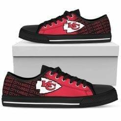 NFL Kansas City Chiefs Low Top Shoes
