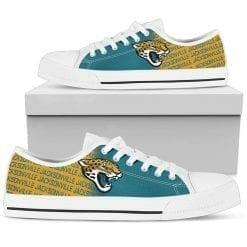 NFL Jacksonville Jaguars Low Top Shoes